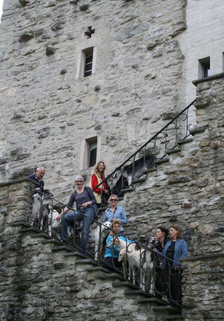 C 3 Kloster Wikon Treppe oben