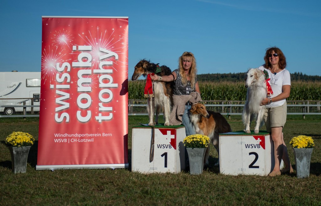 swisscombitrophy 2018 | 1. Rang: Kuskaya's Kondor | 2. Rang: Fiesta Stepowy Goniec | Foto: Heinz Georg Koch